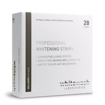 bleaching strips whitewash